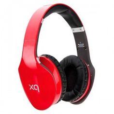 Xqisit Słuchawki Bluetooth Stereo Headset LZ380 czerwony  XQ2003ESM Słuchawki z technologią Bluetooth oraz wbudowanym mikrofonem. Nowoczesny design czyni je praktycznymi i atrakcyjnymi jednocześnie.The Xqisit LZ380 Headphones are fitted with flexible, padded ear cups and a foldable headband design to ergonomically adjust to your head shape. 10 hour battery life keeps the tunes coming throughout the whole day.