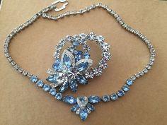 Vintage Eisenberg Jewelry Set #Eisenberg