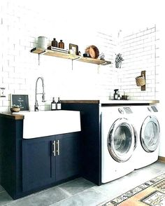 narrow utility sink narrow laundry sink room cabinet utility small ca small utility sink lowes Laundry Bathroom Combo, Laundry Room Wall Decor, Laundry Room Remodel, Laundry Room Bathroom, Basement Laundry, Kid Bathroom Decor, Laundry Room Design, Basement Bathroom, Small Bathroom