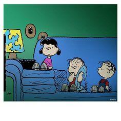 TV watchin' kiddos