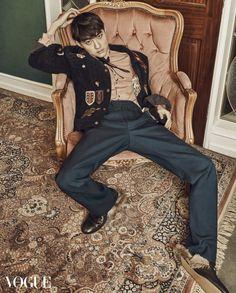 EXO D.O - Vogue Magazine February Issue '16
