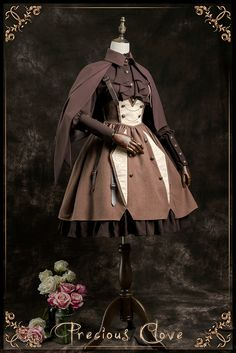 Precious Clove -The Gentle Knight- Ouji Lolita Cape #Leftovers