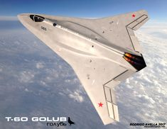 Russian sixth-generation concept fighter aircraft on Behance