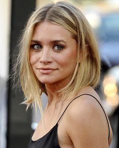 ashley olsen. winner for best asymmetrical bob in my opinion. the only way to do short hair...