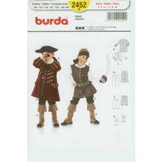 BURDA - 2452 Pirate enfant