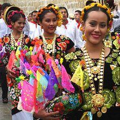 La Guelaguetza festivity in Oaxaca Mexico