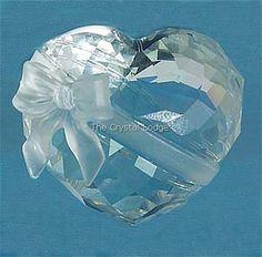 "Sweetheart (Designer: Edith Mair) ~ gift from my ""sweetheart"" Swarovski Ornaments, Swarovski Crystal Figurines, Swarovski Jewelry, Crystals Uk, Swarovski Crystals, I Love Heart, Glass Figurines, Things To Buy, Clear Crystal"