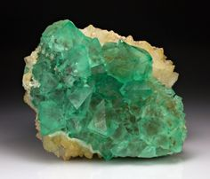 Fluorite with Quartz from South Africa by Dan Weinrich