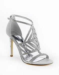 781cd9cafea GUESS Hilonas Embellished Sandals Embellished Sandals