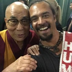 """The Dalai Lama Calls Michael Franti, """"A Monk without Restriction."""" {Video}"""