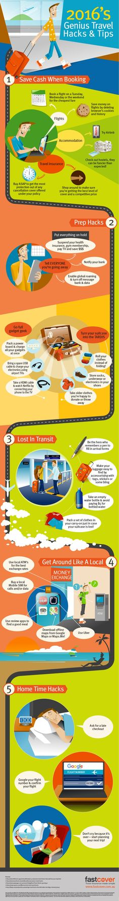 Infographic: 2016's best travel hacks and tips - Matador Network