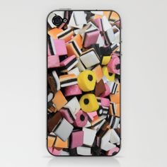 Sweets Candy cases iPhone & iPod Skin by David French - $15.00