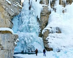 Winter Adventures Around Banff - Johnston Canyon Ice Walk delivers otherworldly scenery | Hike, Bike, Travel