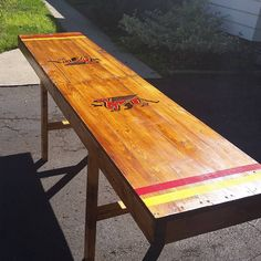 DIY University beer pong Table #handmade #crafts #HowTo #DIY