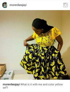 ~DKK ~ Latest African fashion, Ankara, kitenge, African women dresses, African p. from Diyanu African Dresses For Women, African Print Dresses, African Attire, African Wear, African Women, African Prints, African Style, African Fashion Ankara, African Print Fashion