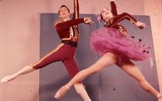Nadia Nerina (1927-2008): A brilliant leading ballerina with the Royal Ballet, whose bravura brought her admiration in Russia. She gained immortality by having Frederick Ashton's masterpiece La Fille mal gardée created on her. Renowned as the best technician at Covent Garden in the Fifties and Sixties, she impressed and humbled Rudolf Nureyev when he attempted to show off in a performance of Giselle with a series of 16 entrechats six (jumps with rapid changes of feet).