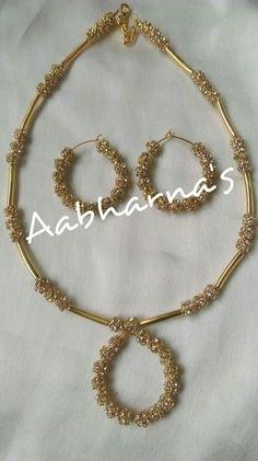 Silk Thread Bangles Design, Silk Thread Necklace, Beaded Necklace Patterns, Thread Jewellery, Jewelry Patterns, Necklace Designs, Beaded Jewelry, Handmade Jewelry, Heart Jewelry