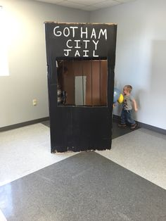 Gotham city batman jail party