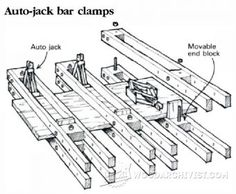 DIY Panel Clamps - Panel Glue Up Tips, Jigs and Techniques | WoodArchivist.com