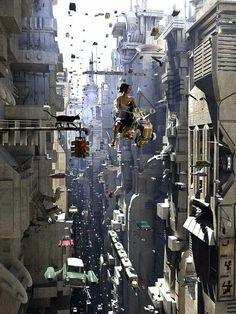 Cyberpunk City - Imgur