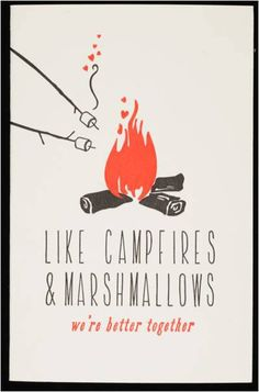 campfires & marshmallows