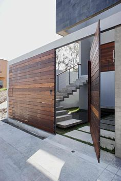 t38 studio modern house architecture --wall -fence-door in one --plastolux.com - Image 3