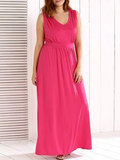 $15.97 V-Neck Back Lace Up Sleeveless Dress