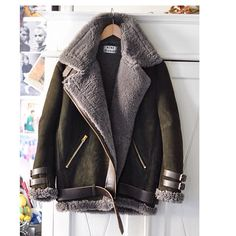 One day I would love an Acne flying jacket.