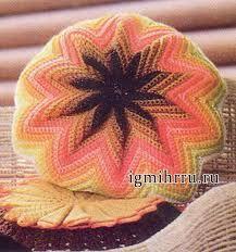Картинки по запросу вязание крючком узоры для подушек
