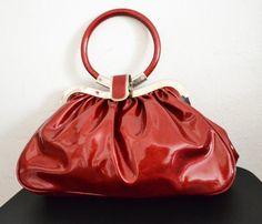 Free Ship Red Purse Small Handbag on Etsy, $24.99