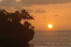 sunset at Tegal Wangi,  Bali