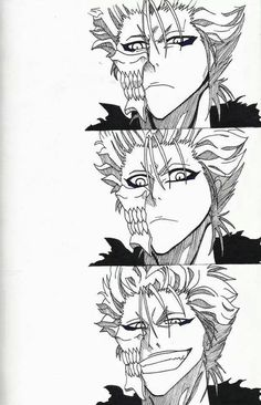 Grimmjow oh his facial expressions are all ways to die for!