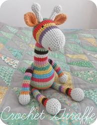 Amended on 22/06/13       Here is my pattern for my little Giraffe. This is the first crochet pattern I've written, so I hope that it's ok....