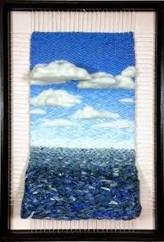 Resultado de imagen de dimensional weaving Hobbies And Crafts, Diy And Crafts, Lana, Knit Crochet, Tapestry, Rugs, Sewing, Knitting, Create