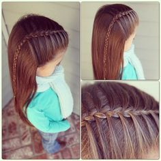 Braided hairstyles http://tipsdemadre.com/en/braided-hairstyles-baby-girls/