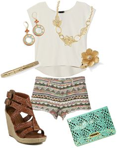 """Summer Gold"" on Polyvore liasophia.com/twl"