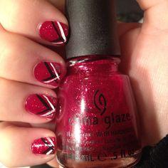 #nails #nailpolish #sparkles #glitter