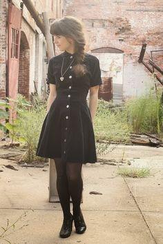 Dress and long locket