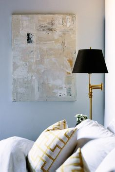 Creams + Blacks + Brass // Caitlin McCarthy's Loft Bedroom
