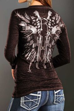 This is a really cute shirt. And I love it because of the fact it looks like the tattoo that I want.