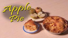 Miniature Apple Pie - Polymer Clay Tutorial