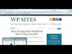 How To Copy Your WordPress Site To Your Local PC