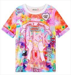 2016 Women'S T Shirts Harajuku Fuck Gradient Soft Doodle Short T-Shirt Tshirt Women Girl Tops Cute Cartoon Unicorn Pegasus #Compare #Popular