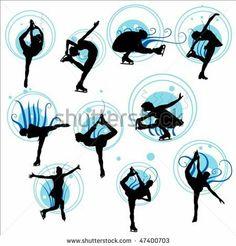 Skating spin positions