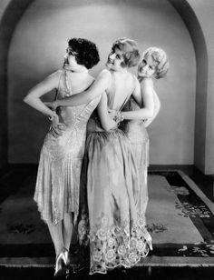 Dorothy Sebastian, Joan Crawford and Anita Page for Our Dancing Daughters, 1928