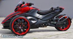 I want one please! can am spyder custom   Can Am Spyder   Custom Car Gallery   Orlando, FL