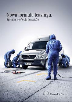 Mercedes-Benz - Lease & Go by Peter Jaworowski, via Behance