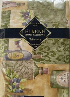 60-Round-pictorial-Olives-vinyl-flannel-backed-tablecloth-multi-color-by-Elrene