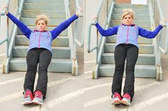 Free Workout with Photos: 30-Minute Stairs Total Body Workout