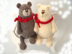 Oso de juguete Crochet ganchillo patrón patrón de juguete /Willy el amistoso oso / patrón de los animales de ganchillo / crochet oso patrón / patrón de amigurumi